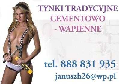 """Tynki Cementowo Wapienne Podlaskie: Białystok, Hajnówka, Bielsk Podlaski """"firma Tynkarska"""""""
